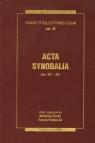 Acta synodalia Dokumenty synodów od 381 do 431 roku Synody i Kolekcje