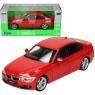 WELLY BMW 335i, czerwony (WE24039)
