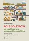 Rola Sołtysów we współczesnych społecznościach wiejskich Płeć jako Matysiak Ilona
