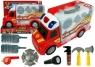 Auto-walizka rozkładana Straż Pożarna + Akcesoria Wiek: 3+