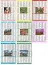 Kalendarz plakietka 2014 MIX wzorów