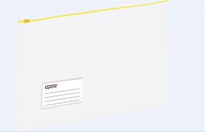 Koperta A4 na dokumenty struna żółta GRAND