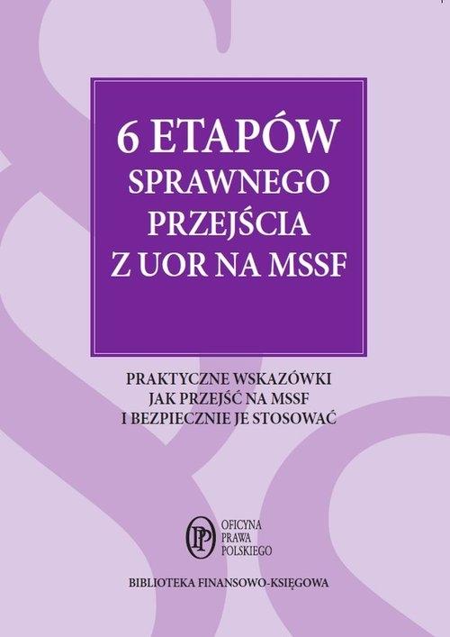 6 etapów sprawnego przejścia z UOR na MSSF Krupa Marcin