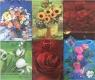 Torebka ozdobna laminowana PL-2 zestaw 44 kwiaty
