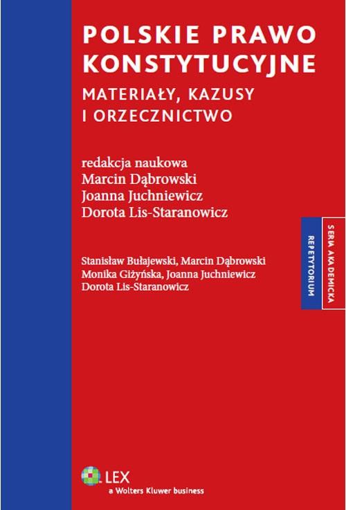Polskie prawo konstytucyjne Bułajewski Stanisław