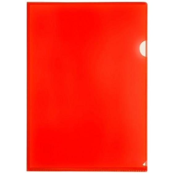Obwoluta, ofertówka A4 Tetis, 12 szt. - czerwona (BT615-C)