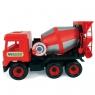 Middle Truck betoniarka czerwona (32114)