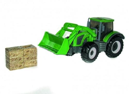 Teama Traktor spychacz gigant zielony 1:16