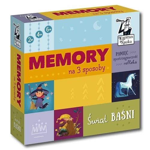 Kapitan Nauka Memory na 3 sposoby Świat baśni