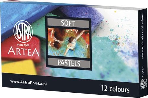 Pastele suche Astra Artea 12 kolorów