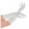 Akcesoria do kostiumów Arpex rękawiczki wieczorowe białe lub czarne (SR9144)