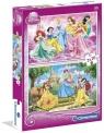 Puzzle 2x20 Księżniczki (07014)