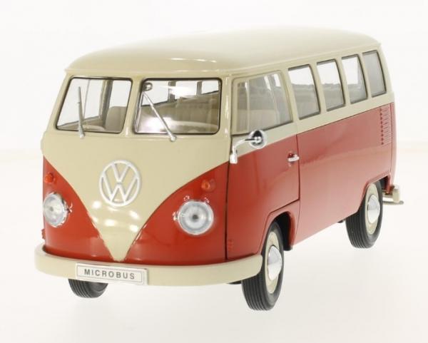 Volkswagen T1 Bus 1963 (beige/light red) (18054)