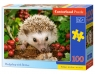 Puzzle 100: Hedgehog with Berries (B-111145)Wiek: 6+