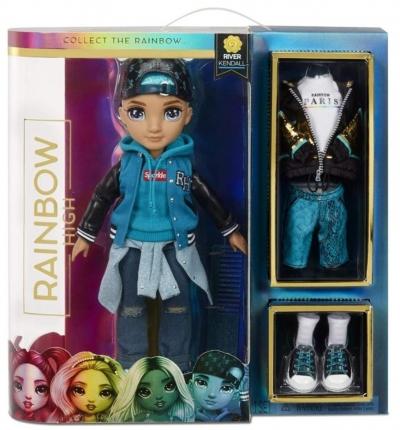 Rainbow High Fashion Doll Teal Boy