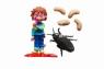 Wielki karaluch i larwy
