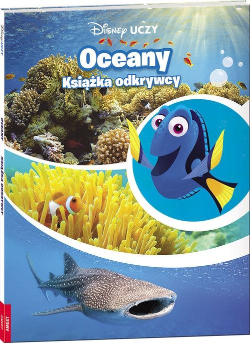 Gdzie jest Dory Oceany Książka odkrywcy