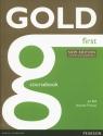 Gold First Coursebook Bell Jan, Thomas Amanda