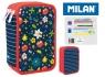Piórnik MILAN 3-poziomowy z wyposażeniem FLOWERY 081364FW