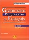 Grammaire Progressive du Francais Niveau debutant książka z CD 2 edycja Gregoire Maia