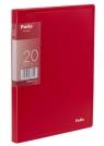 Teczka Clear Book A5 20 koszulek czerwona
