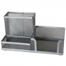 Przybornik na biurko srebrny (248636)