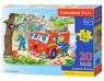 Puzzle Maxi Konturowe 20: Fire Brigade (02146)