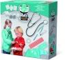 Rozbudowany zestaw do zabawy w lekarza z fartuchem