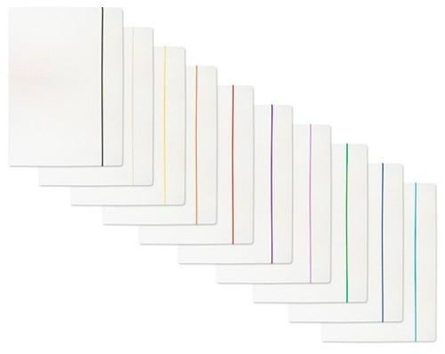 Teczka z gumką lakierowana A4 biała 50 sztuk (21191121-14)