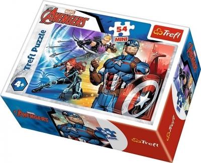 Puzzle mini 54: Bohaterowie The Avengers 2 TREFL