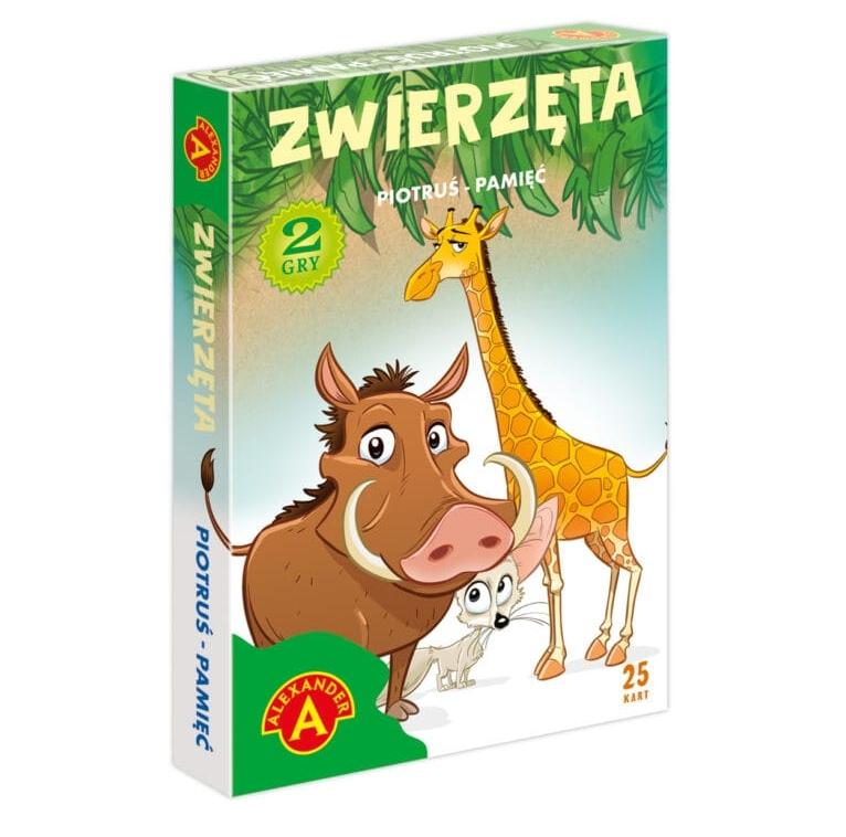 Karty Piotruś - Zwierzęta (26146)