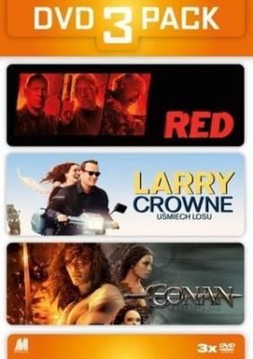 Red / Larry Crowne - Uśmiech losu / Conan Barbarzyńca (3 DVD)