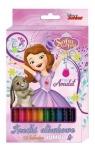 Kredki ołówkowe Jumbo Jej Wysokość Zosia 12 kolorów