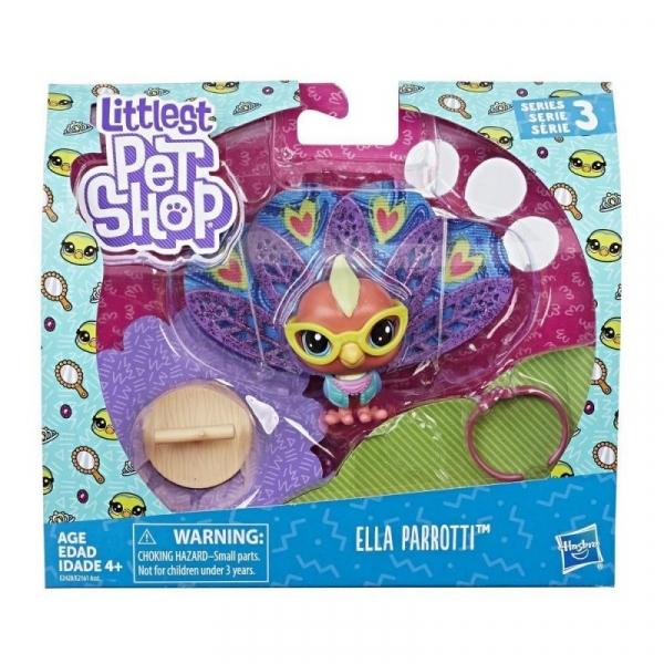 Littlest Pet Shop Zwierzaki Premium Ella Parroti (E2161/E2428P)