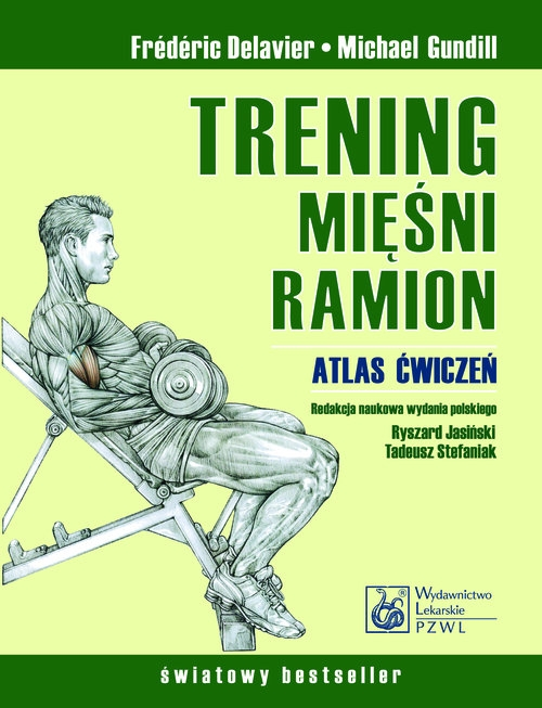 Trening mięśni ramion Delavier Frederic