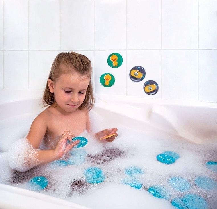 Gra memory do kąpieli Zwierzątka 24 elementy (J04714)