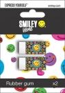 Gumka 2 sztuki Smiley