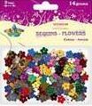 Cekiny kwiaty mix 13 mm, 14 g
