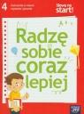 Słowa na start 4 Radzę sobie coraz lepiej Ćwiczenia w nauce czytania i pisania