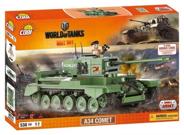 Cobi: World of Tanks. A34 Comet - 3014