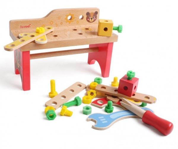 Warsztat mechanika drewniany (13016)