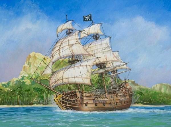 ZVEZDA Pirate Ship