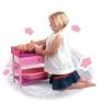 Drewniany stół do przebierania dla lalek (016-08614)