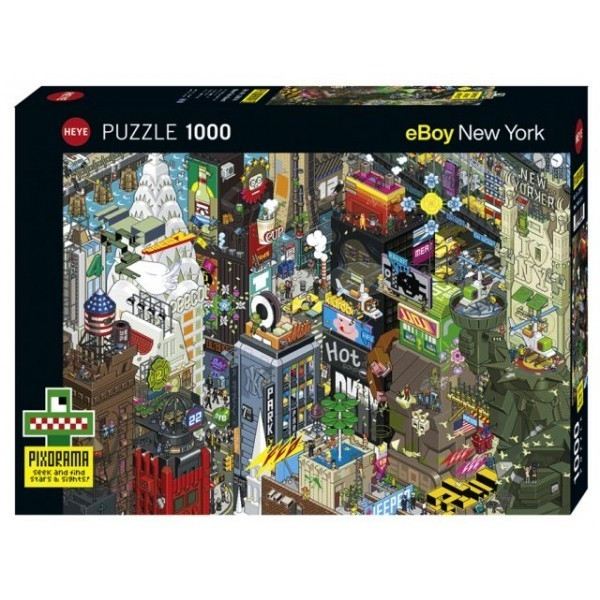 Puzzle 1000 elementów New York Quest - Pixorama (29914)