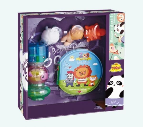 Zestaw zabawek do wody-zwierzeta z Zoo (YQ8221-4)