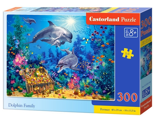 Puzzle Dolphin Family 300