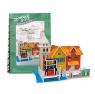 Puzzle 3D: Domki świata - Włochy, Wharf (306-23114)