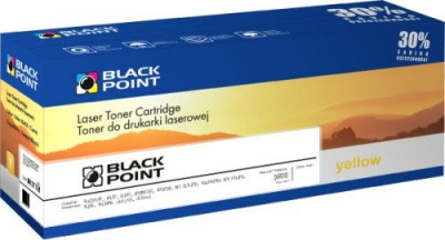 Toner alternatywny Black Point HP CB542A - yellow (LCBPHCP1215Y)