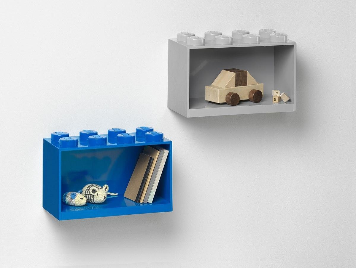 Półka LEGO® BRICK 8 (Czerwona) (41151730)