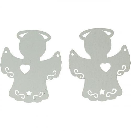 Dekoracje drewniane aniołek (417638)
